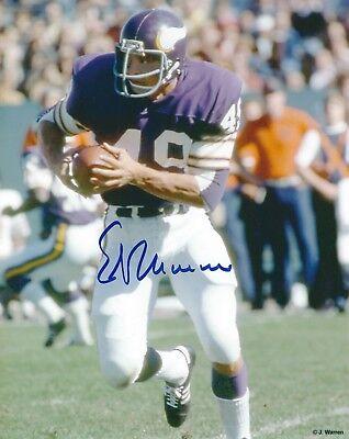 finest selection b8c21 84184 Signed 8x10 ED MARINARO Minnesota Vikings Autographed photo - w/COA   eBay