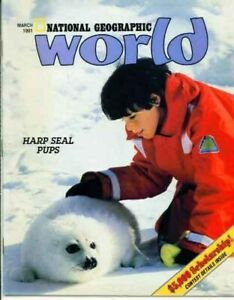 National Geographic World Magazine 1991 March Camp Cole