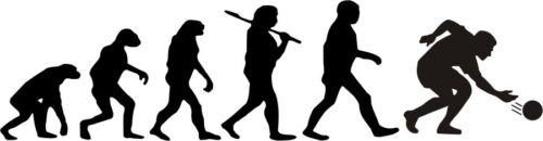 freie Farbwahl Evolution Kegeln Sport Kegeln Wandtattoo