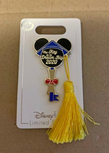 Disney Mickey Mouse Icon Key Pin Graduation 2020 Limited Edition