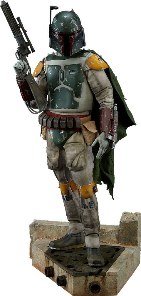 Star Wars: Return de los Jedi-Boba Fett 20.75 Estatua (Sideshow Collectibles)