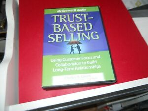 Trust Based Selling Charles Green 4 Audio Cds Free Shipping 9781933309354 Ebay