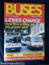 BUSES # 559 - OCT 2001 - HOW RDH IS FILLING THE BIG GROUPS GAPS