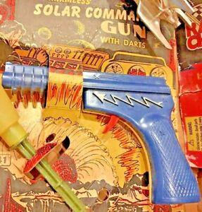 Vintage-Space-Toys-lot-1950-s-amp-up-Rocket-amp-Solar-Guns-Zoom-Lite-Bee-robot-Bike