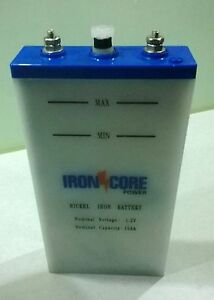 Image result for 12V ironcore battery