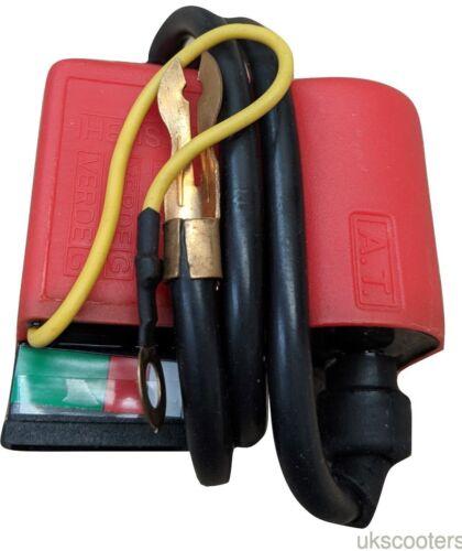 ukscooters LAMBRETTA VESPA 12V CDI UNIT RED NEW ELECTRONIC COIL
