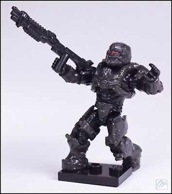 Sealed NEW 2015 Mega Bloks Halo Exclusive RARE Figure Spartan Warrior RED VISOR