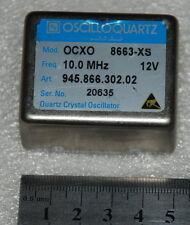 10 MHz Double Oven OCXO sinewave 8663-XS +12V  OSCILLOQUARTZ OCXO 8663-XS