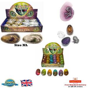 Alien-Huevos-Bebe-Embrion-en-Baba-Mini-y-huevos-Gigante-Fiesta-De-Cumpleanos-Bolsa-De-Botin-Juguetes