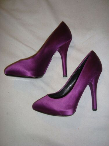 Satin Uk 650 00 Shoes Rrp Dolce 37 4 £ Gabbana Purple Eu CgUBgw