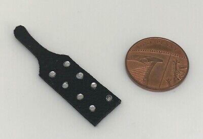 artículos adicionales libre de envío y manipulación DD057 Casa de muñecas en miniatura spanking Remo Negro