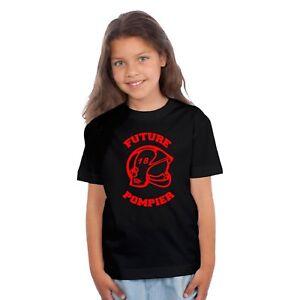T-shirt ENFANT FUTURE POMPIER
