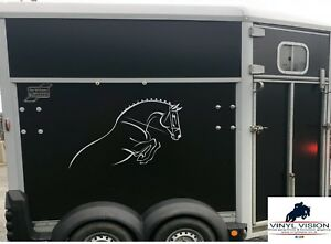 Voiture-camion-remorque-voiture-mural cheval poney autocollants decals graphics saut--Trailer-Car-Wall Horse pony Stickers Decals Graphics Show Jumpingafficher le titre d`origine wviOcIWH-0716