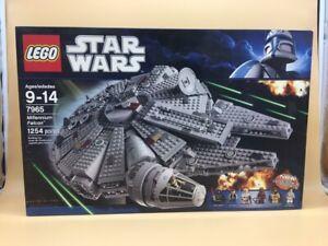 Details About Lego Star Wars Big Lego Set Millenium Falcon 7965 New In Box Nuevo En Caja Rare