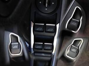 Sitzheizung Edelstahl poliert D Mercedes W209 Chrom Rahmen für Schalter ESP