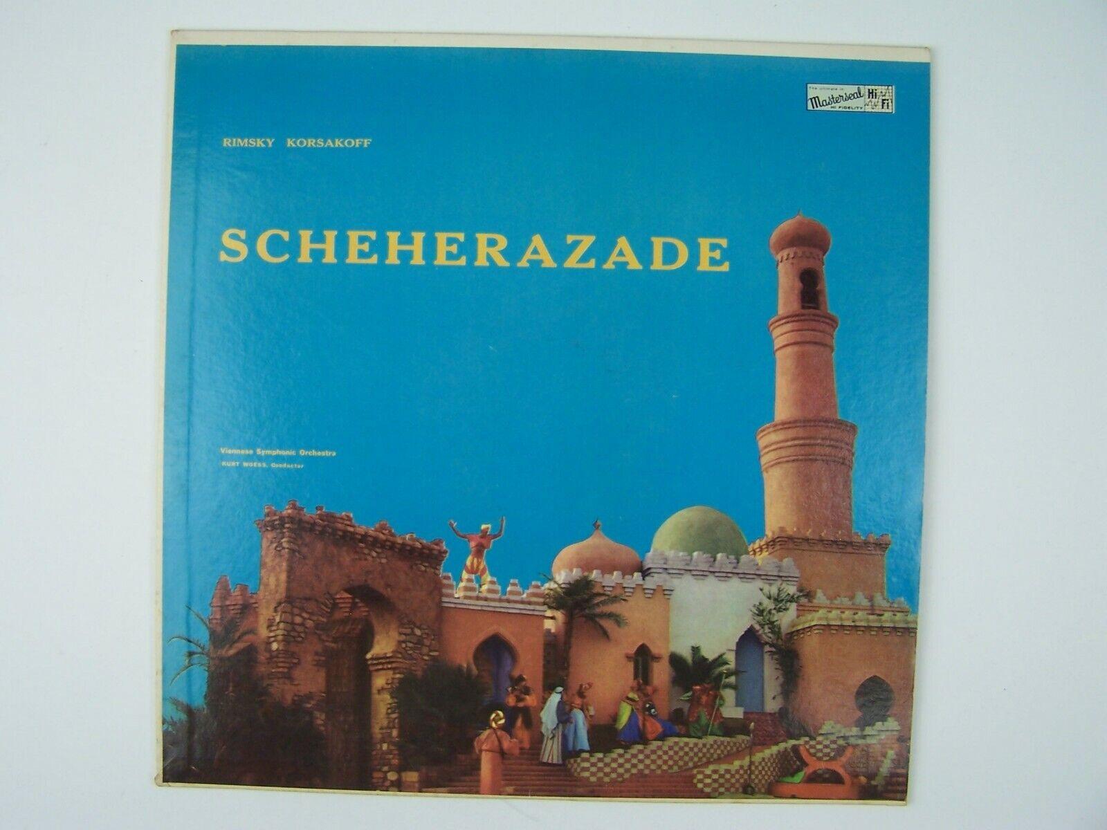 Rimsky-Korsakoff RIAS Symphonic Orchestra Scheherazade