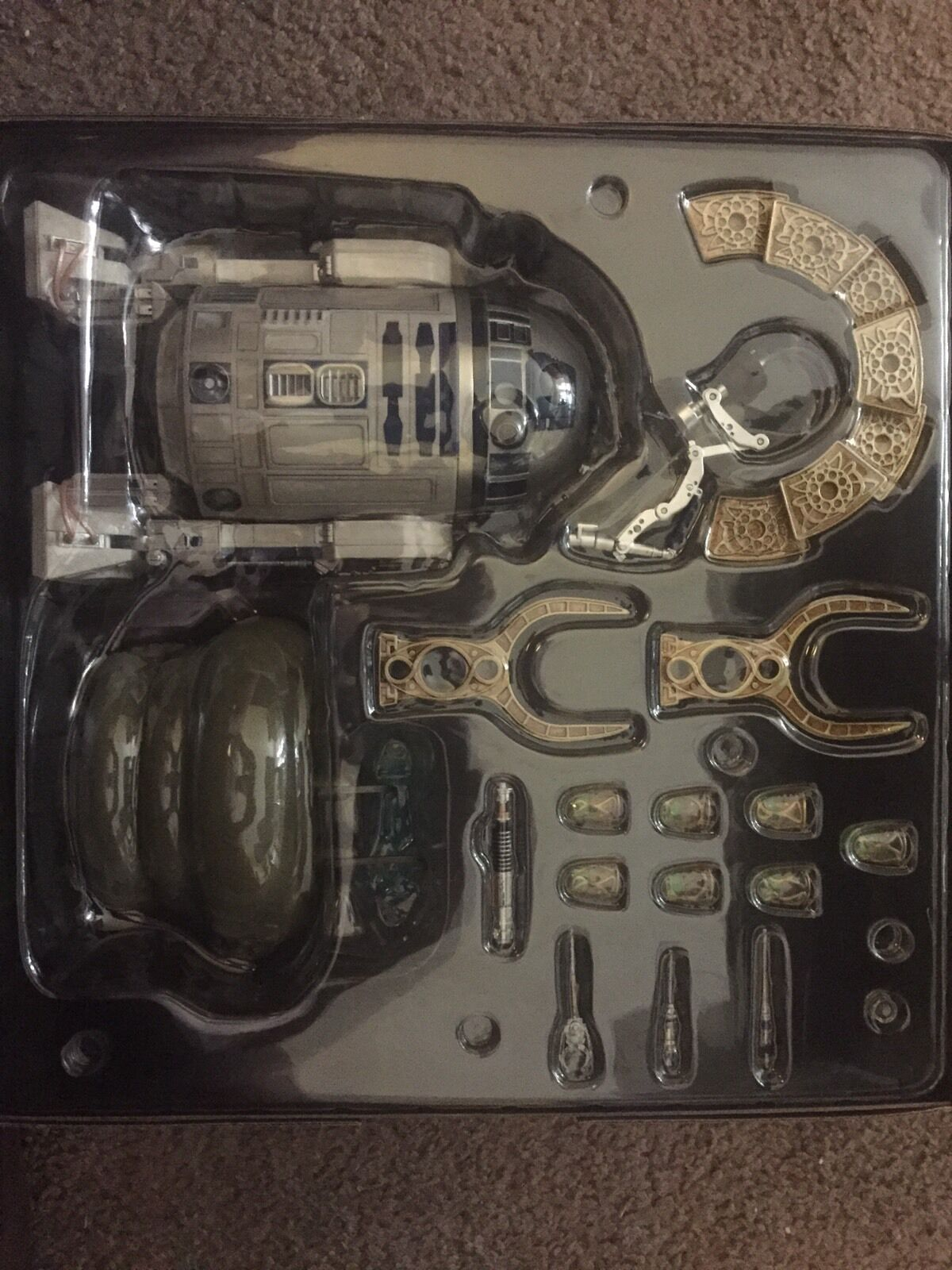Sixth Scale R2-D2 with many functions.