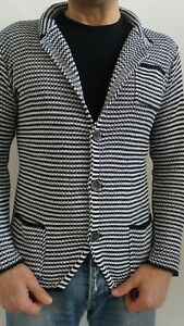 giacca uomo in maglia cotone