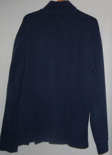 80s zip Lauren mezza Red maglione Xl Pony Vintage uomo in pile Polo Ralph blu navy 7w5UA