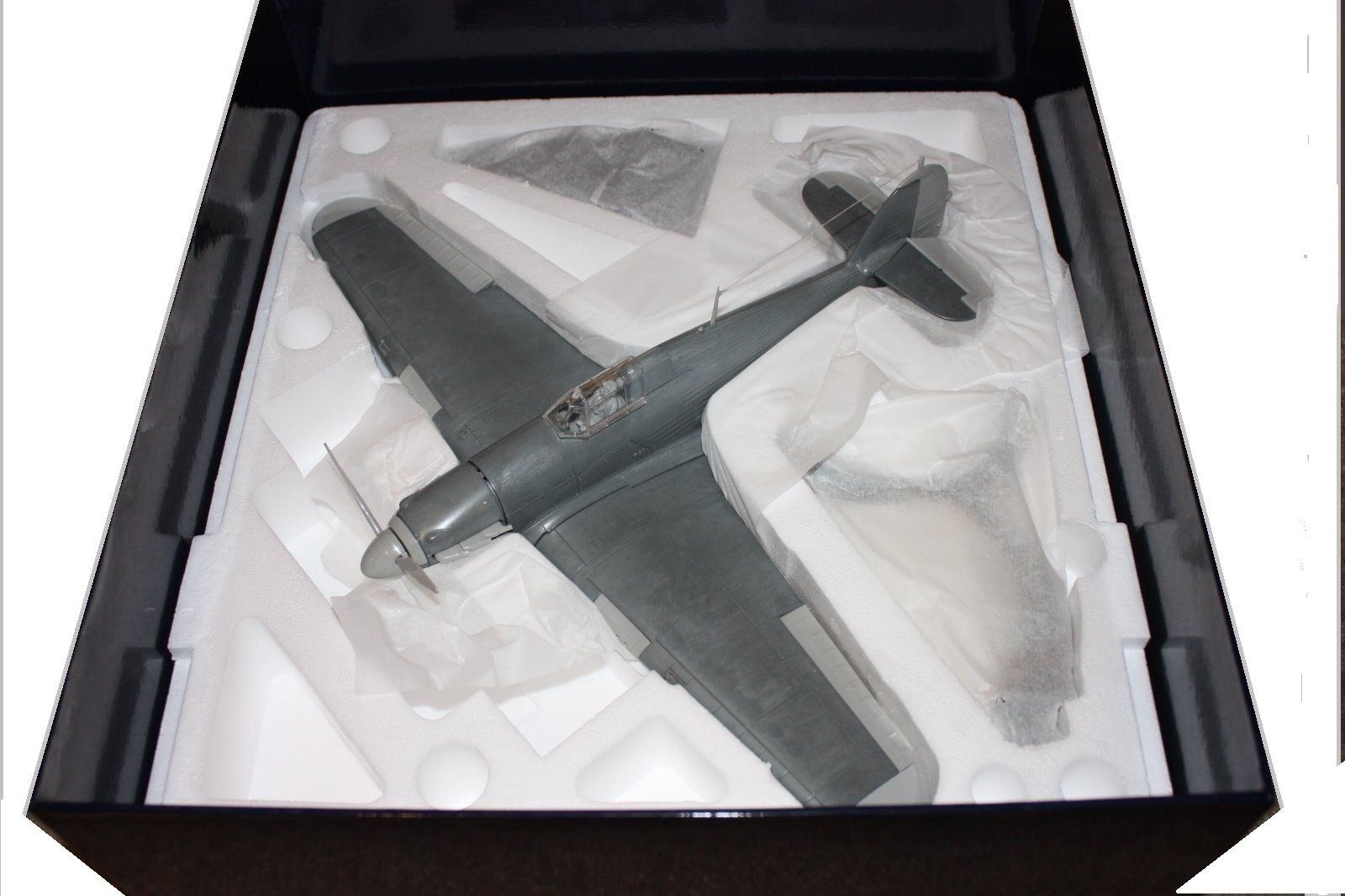 CORGI AA35506, HAWKER HURRICANE IA, PRE-PRODUCTION RAW METAL CASTING. VERY RARE