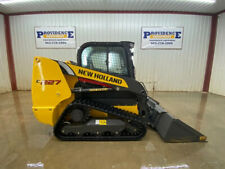 2017 New Holland C227 Cab Compact Track Loader With Ac And Heat