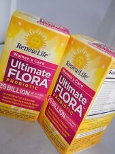 Renew Life Ultimate Flora Probiotic  Women's Care 25 Billion 30 caps each (2pks)
