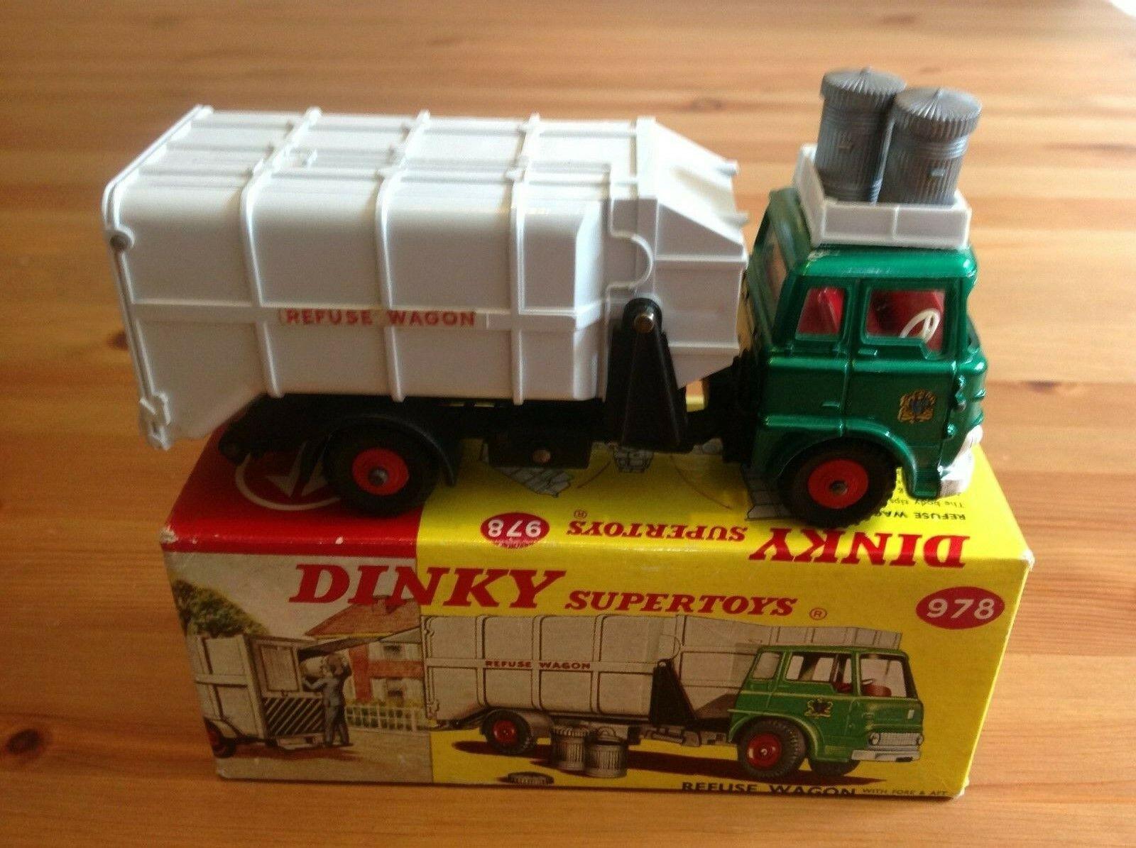 Dinky 978 Bedford TK rechazar Vagón Original Y En Caja