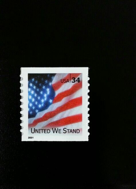 2001 34c United We Stand, Flag, Special Issue, SA Scott