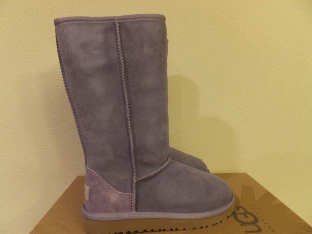 8a30bac499e UGG Australia Kids Youth Girls Classic Tall Purple Sz 13 BOOTS 5229 K/pra