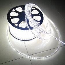 2M Cool White 110V 120V High Power SMD3528 Flexible LED strip rope Light US Plug