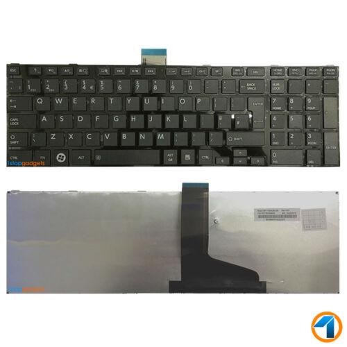 Keyboard for Toshiba Satellite Pro C850-1H8 Laptop Notebook QWERTY UK English
