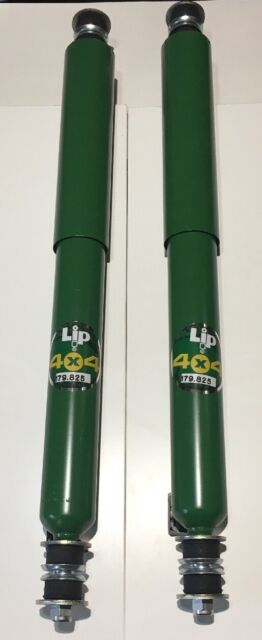 "LAND ROVER DEFENDER 90 FRONT SHOCK ABSORBERS ""OEM ARMSTRONG"" PAIR - 84 TO 99"