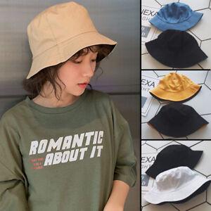 Mens Womens Bucket Hat Outdoor Fishing Hunting Camping Boonie Fisherman Sun Cap