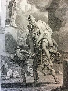 Les-Metamorphoses-D-039-Ovid-Enee-Fyant-Troy-Print-of-1806