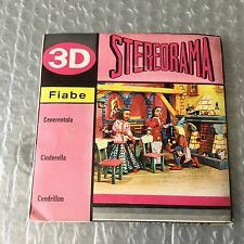 VERY RARE VINTAGE 60'S VIEW MASTER STEREORAMA 3D#CINDERELLA  CENERENTOLA