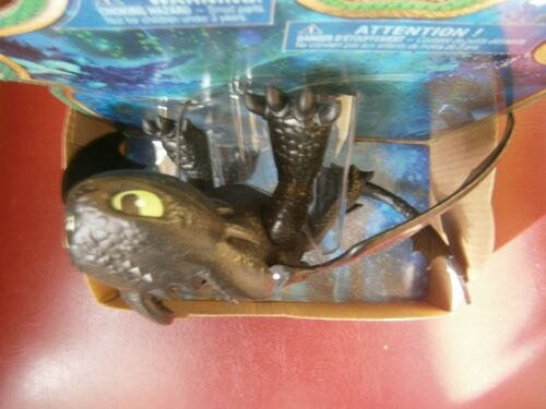 The Hidden World Basic Figure Toothless Black NEW How to train your dragon 3