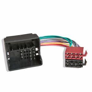 ford transit quadlock radio wiring iso harness headunit connector rh ebay com
