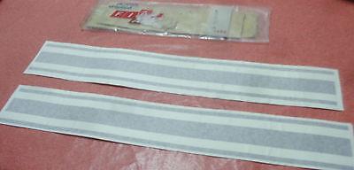 Fiat 128 Sport Coupe 1100 1300 Sl Lusso Rear Stripes Stickers Adesivi Chiaro E Distintivo