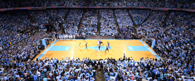 Gonzaga Bulldogs at North Carolina Tar Heels Basketball
