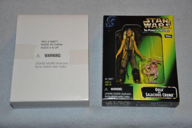 NEW Vintage Kenner Star Wars Oola /& Salacious Crumb Exclusive Fan Club Figures