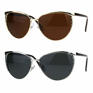 f00e6759b43 Image is loading Womens-Polarized-Metal-Frame-Designer-Fashion-Butterfly- Sunglasses