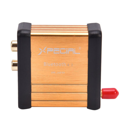 Bluetooth4.2 Wireless Audio Adapter Receiver Stereo 3.5mm RCA Music HIFI PL