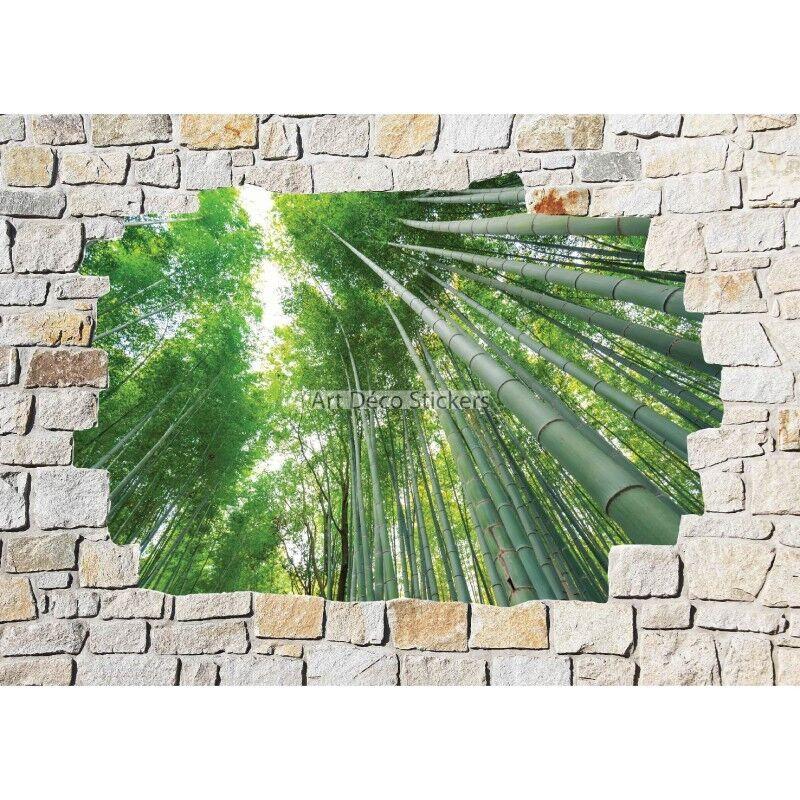 Adesivi parete murale di di di pietra bambù 8519 763735