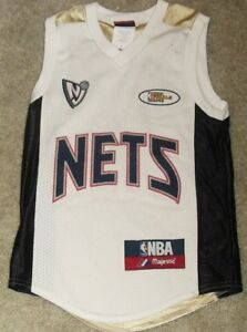 cd4d38a3a6d KENYON MARTIN 2003 NBA FINALS New Jersey Nets Kids Youth Jersey sz ...