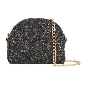 shop for official incredible prices hot-selling authentic Details about Accessorize Monsoon Sparkly Evening Ladies Clutch Bags Party  Black Silver New