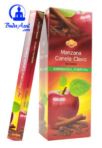 INCIENSO-Manzana-Canela-Clavo-6-cajitas-120-grs-varillas-SAC-muestras-GRATIS