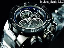 Invicta Reserve 52mm Subaqua Sea Dragon Swiss Made Chronograph Black Dial Watch