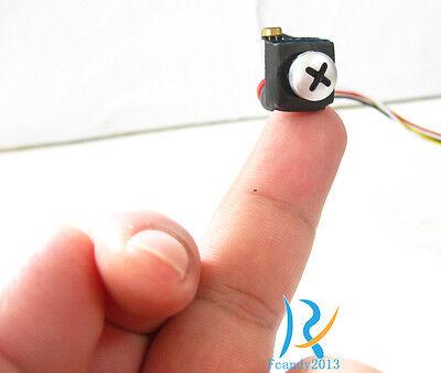 1000TVL Smallest Full HD mini spy nanny hidden color pinhole micro camera cam
