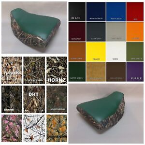 ST HONDA TRX350 Seat Cover 2000-2006 in PINE CAMO or 7 CAMO OPTIONS