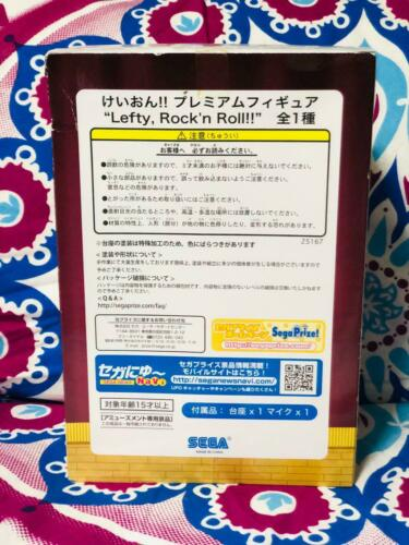Lefty, Rockn Roll SEGA K PM figures Mio Akiyama Figure Japan